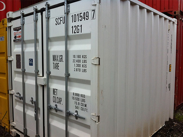 10ft container side general purpose Brisbane 2