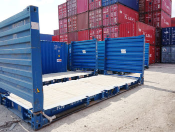 20ft Flat rack container - Coastal Containers Container Sales