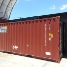 20ft red container general purpose