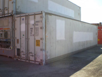 40ft Refridgerated containers Reefer Side Brisbane
