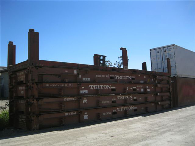 40ft flat rack container - Coastal Containers Container Sales