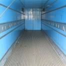 40ft insulated shipping container inside