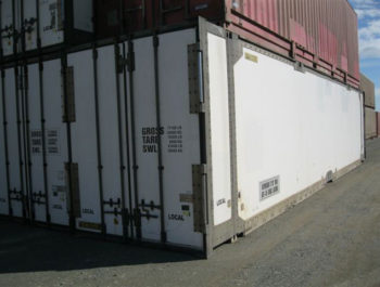 40ft white insulated shipping container Brisbane