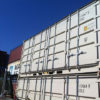 Stacked side opening containers for sale